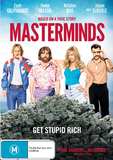 Masterminds DVD