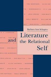 Literature and the Relational Self by Barbara Ann Schapiro image