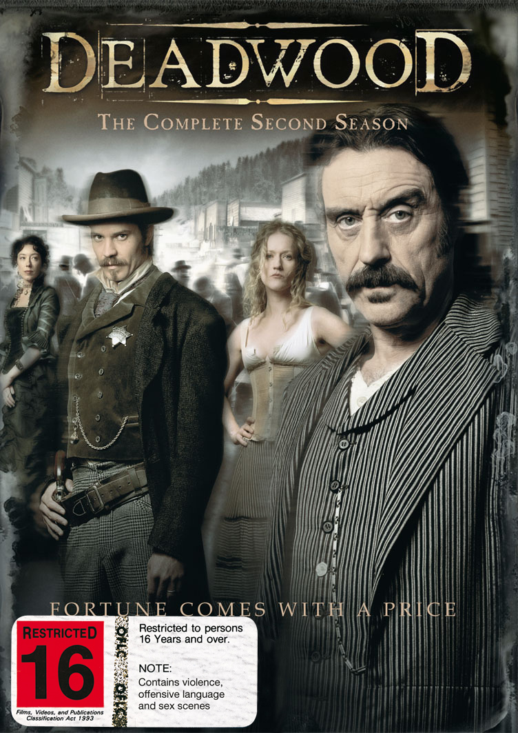 Deadwood - The Complete Second Season on DVD image