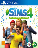 The Sims 4 Deluxe Edition for PS4