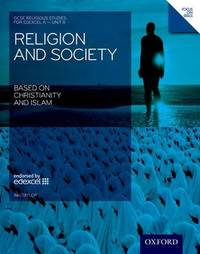 GCSE Religious Studies: Religion & Society Based on Christianity & Islam Edexcel A Unit 8 Student Book: Unit 8 by Ina Taylor image