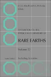 Handbook on the Physics and Chemistry of Rare Earths: Volume 51 image