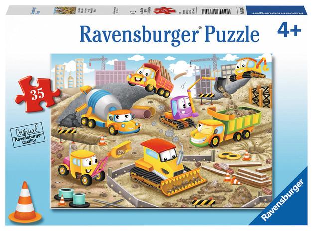 Ravensburger : Raise the Roof! Puzzle 35pc