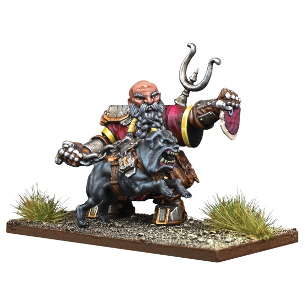 Kings of War Vanguard: Dwarf Support Pack Mastiff Packmaster