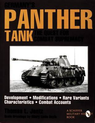 Germany's Panther Tank by Thomas L. Jentz