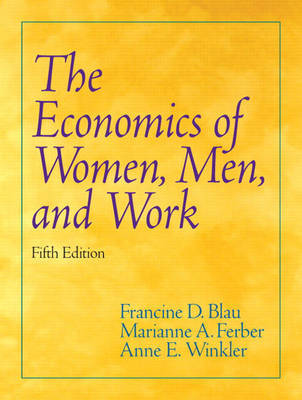 Economics of Women, Men, and Work by Marianne A Ferber image