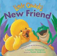 Little Quack's New Friend by Thompson image