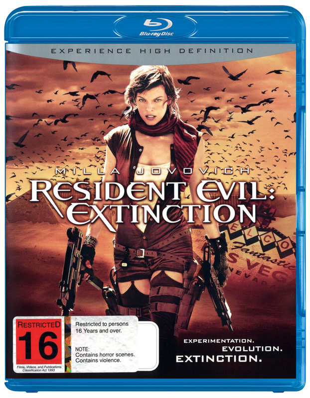 Resident Evil - Extinction on Blu-ray