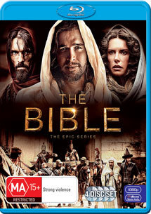 The Bible: The Epic Series - The Complete First Season on Blu-ray