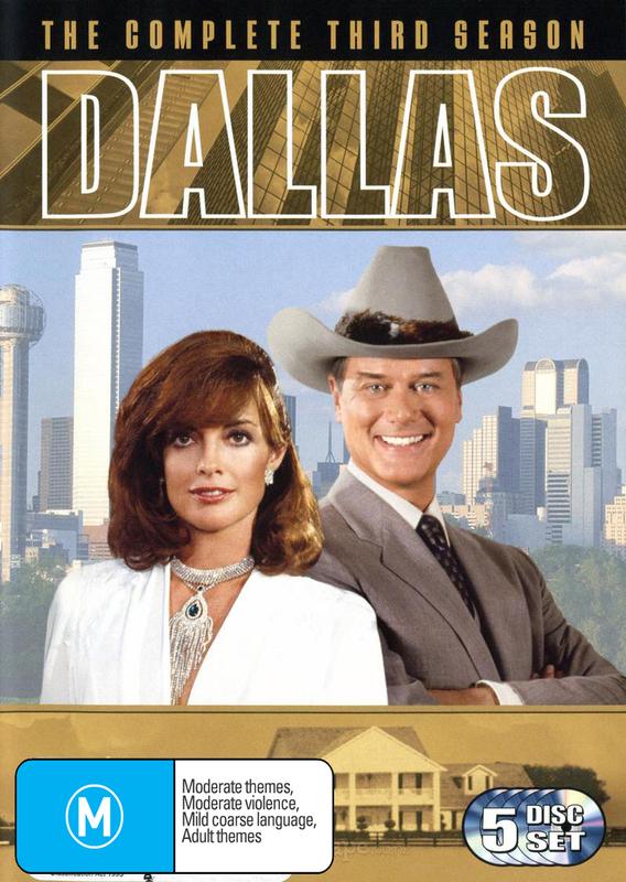 Dallas: The Complete Third Season  (5 Disc) on DVD