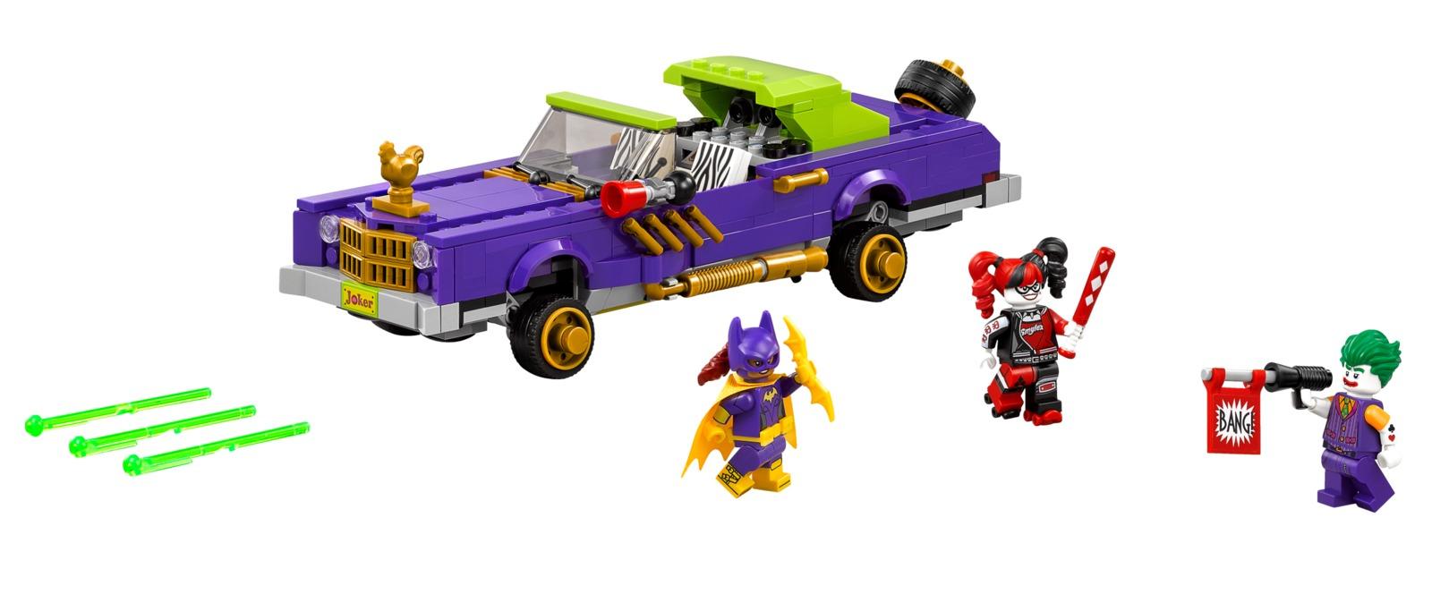 LEGO Batman Movie: The Joker's Notorious Lowrider (70906) image