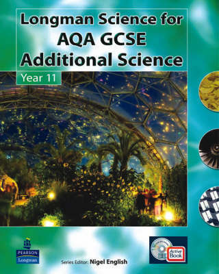 AQA GCSE Additional Science: Pupil's Active Pack Book, for AQA GCSE Additional Science A by Nigel English image