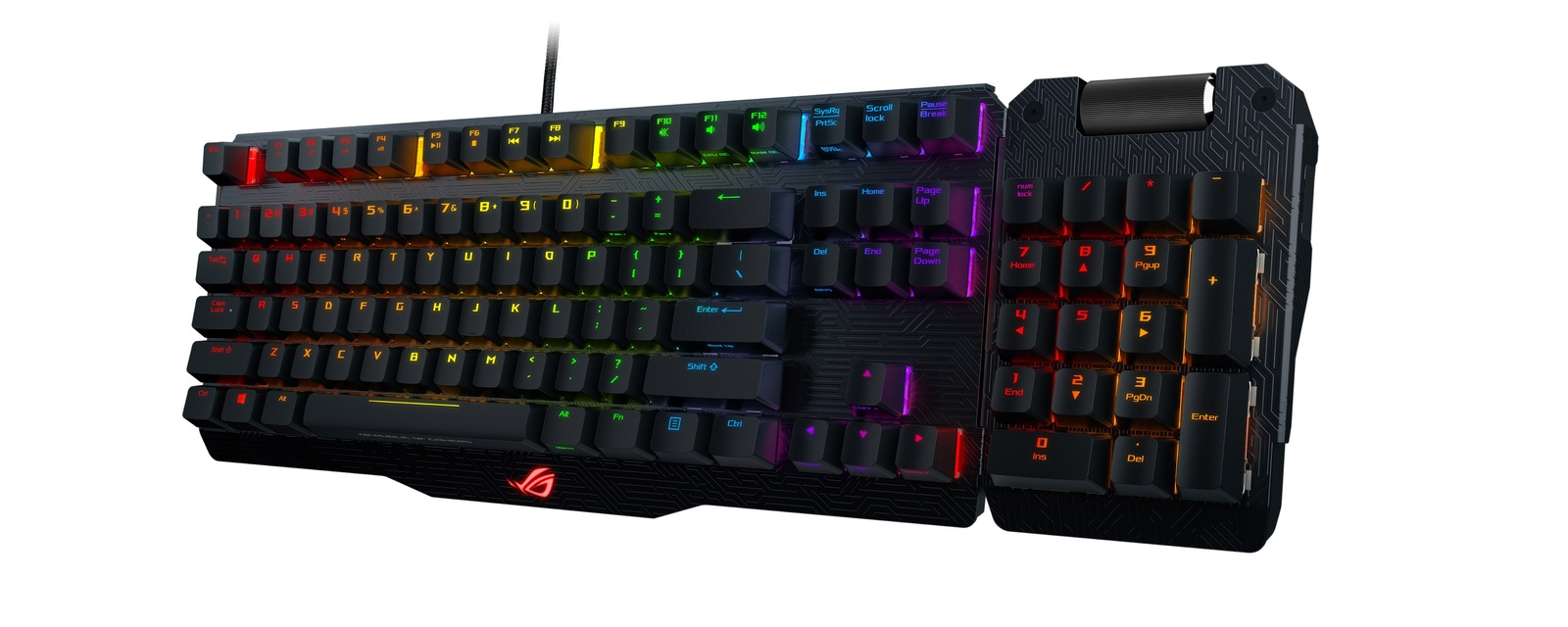 ASUS ROG Claymore Gaming Keyboard (Cherry MX Red) for  image