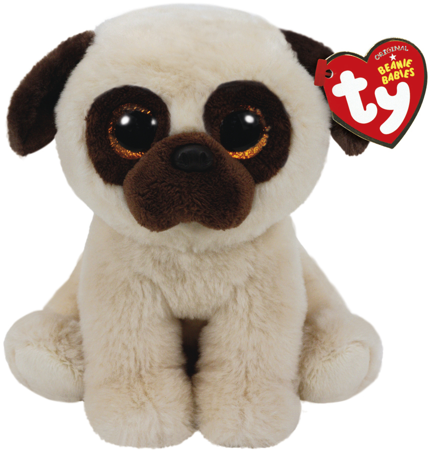 Ty Beanie Babies: Rufus Pug - Small Plush image