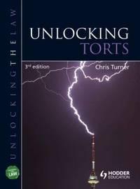 Unlocking Torts by Chris Turner image