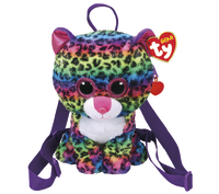 Ty Gear: Dotty Leopard - Plush Back Pack
