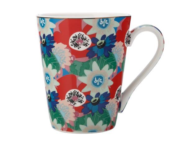 Maxwell & Williams: Teas & C's Glastonbury Mug - Passion Vine Blue (360ml)
