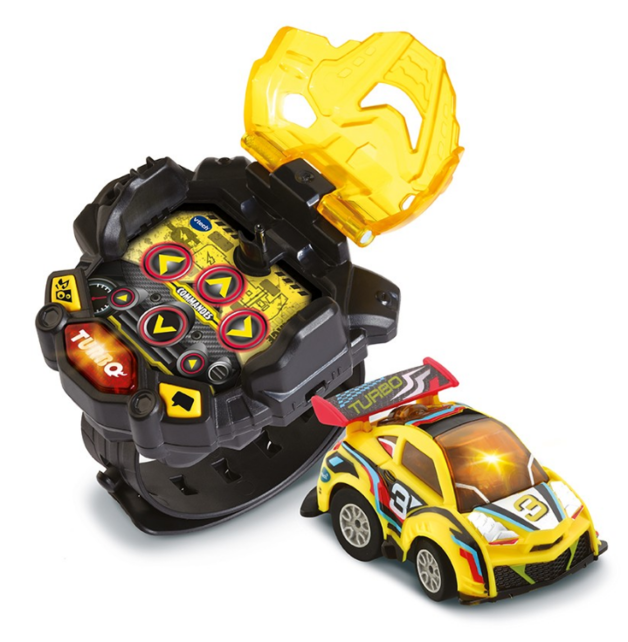 Vtech: Turbo Force Racer Watch - Yellow