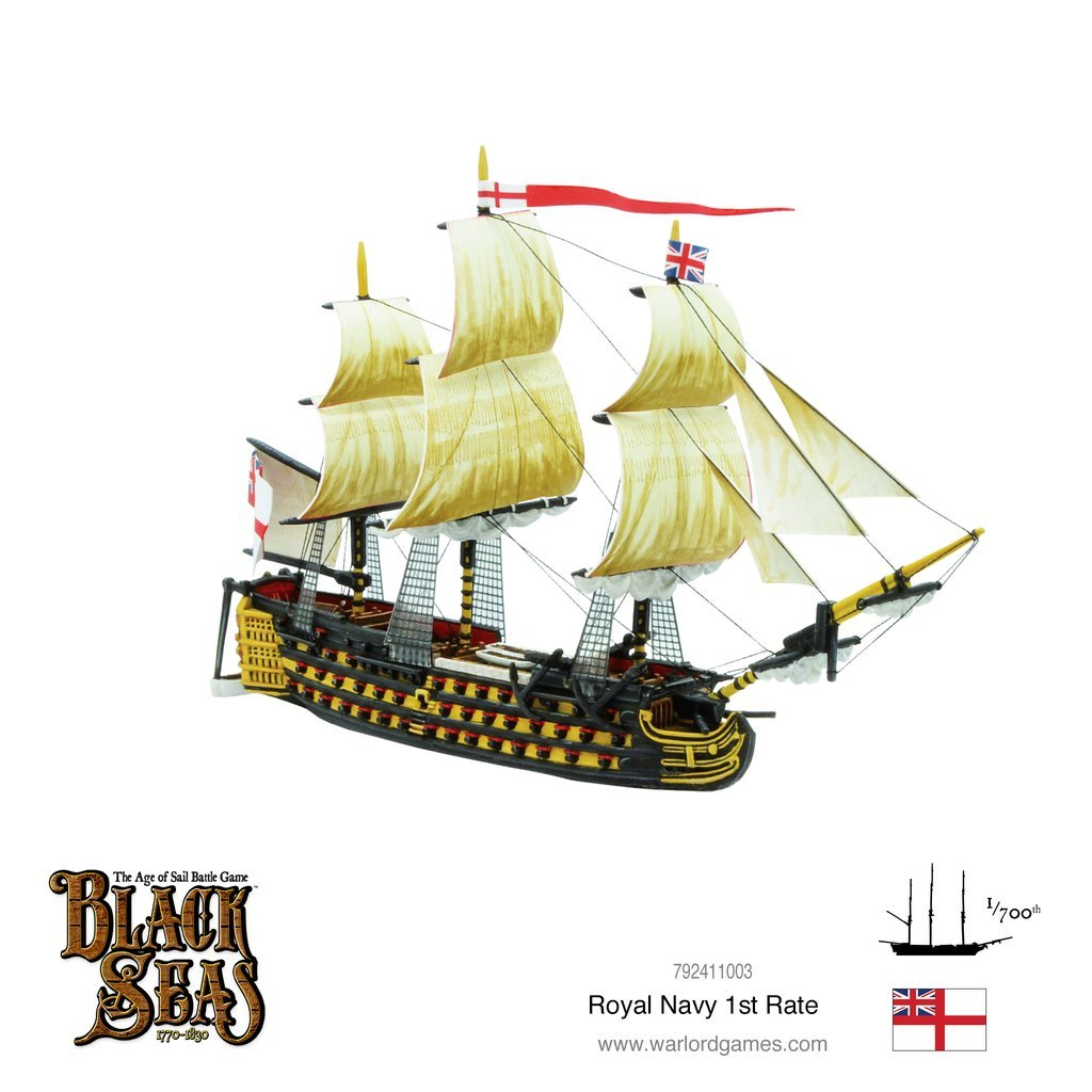 Black Seas: Royal Navy 1st Rate image