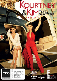 Kourtney & Kim Take New York - Season 2 on DVD