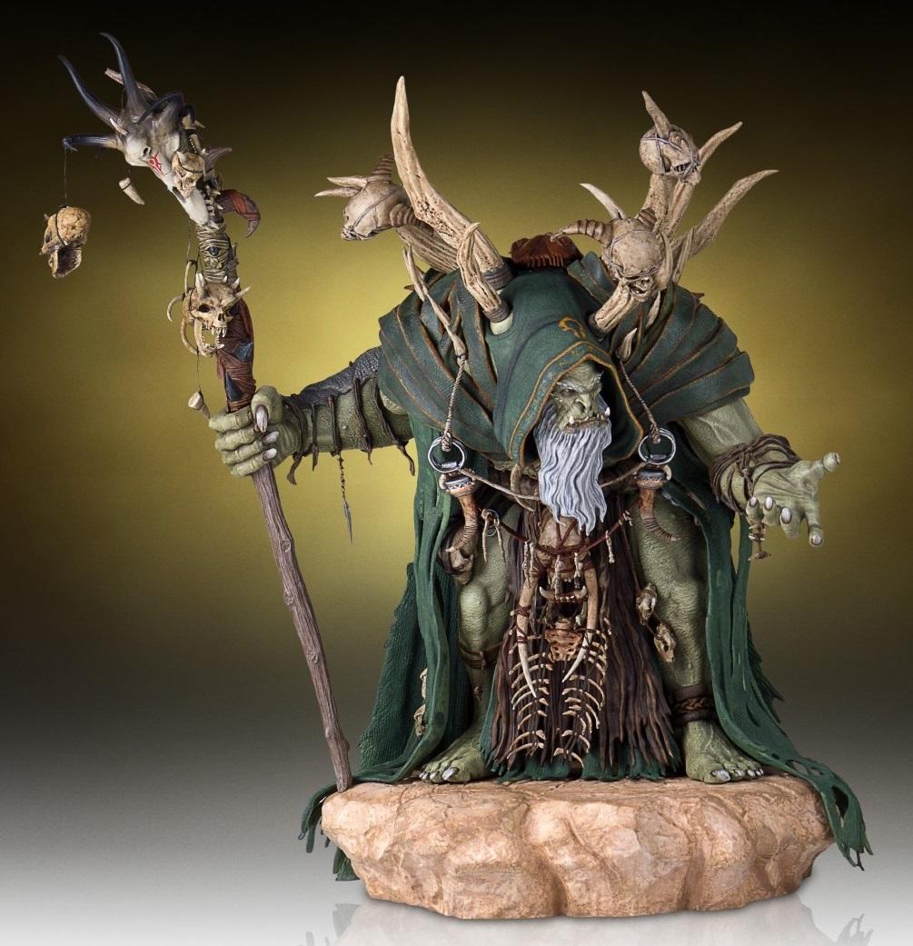 Warcraft Movie - 1:6 Gul'dan Statue image