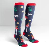 Womens - Wonderland Knee High Socks