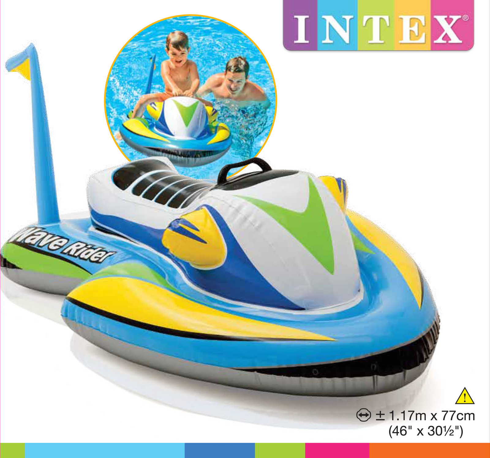 Intex: Wave Rider Ride-On image