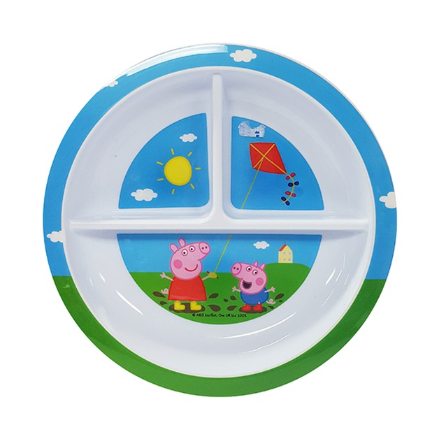 Peppa Pig Section Plate