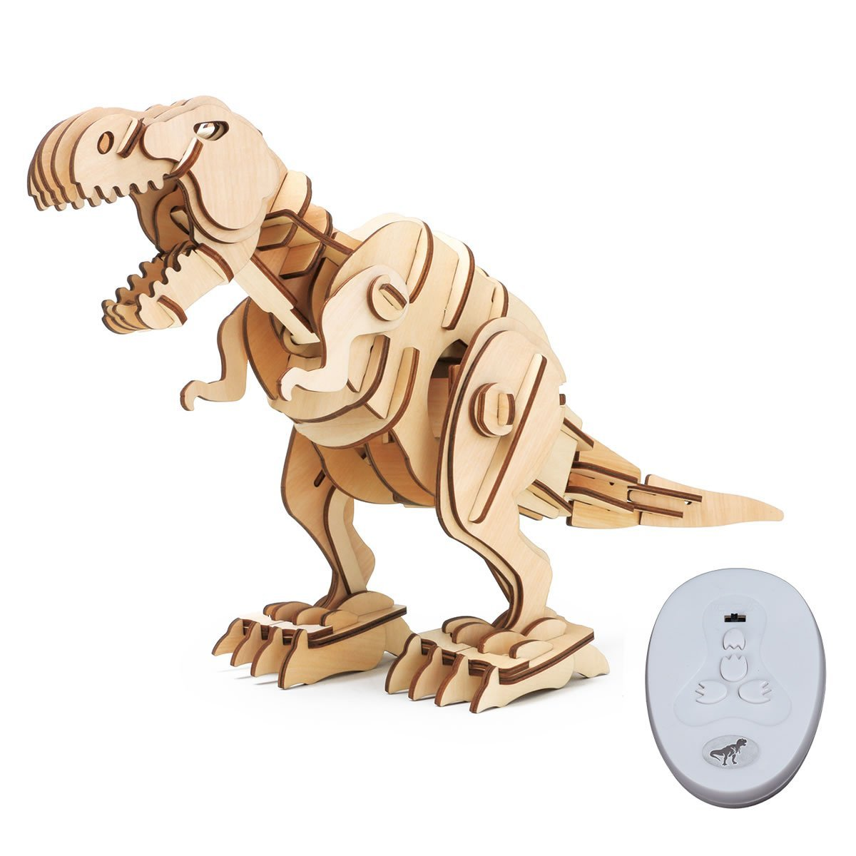 Robotime: Remote controlled T-Rex image