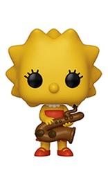 The Simpsons - Lisa (Saxophone) Pop! Vinyl Figure