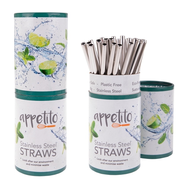 Steel Smoothie Straws