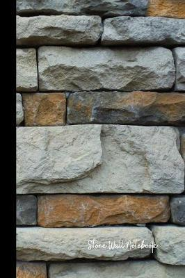 Stone Wall Notebook by Maybe Another Rock image