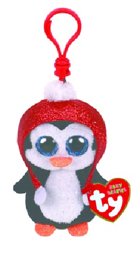 Ty Beanie Boos: Gale Penguin - Clip On Plush