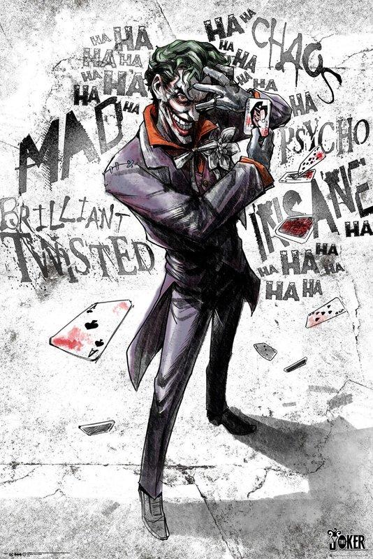 DC Comics: Maxi Poster - Joker Type (1027)