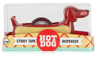 NPW: Pups To Go - Hot Dog Tape Dispenser with Tape Roll image