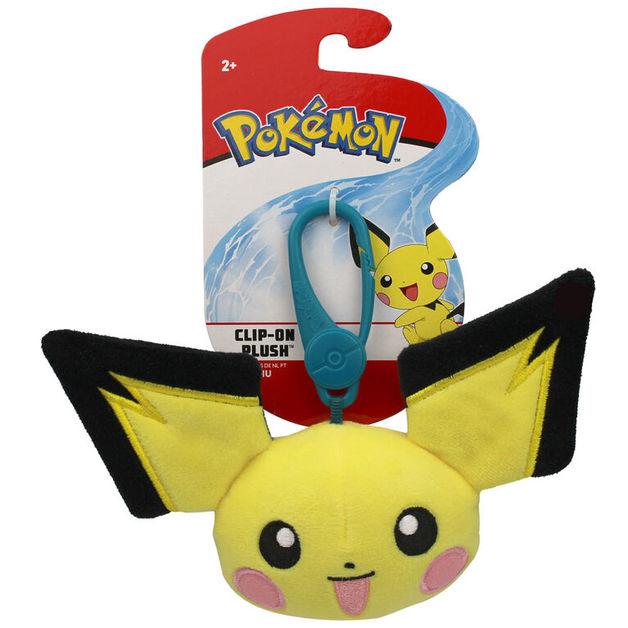Pokemon: Clip-On Plush - Pichu Head
