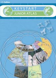 Collins Keystart Junior Atlas by Stephen Scoffham image