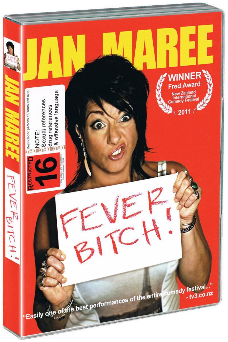 Jan Maree: Fever Bitch! on DVD image