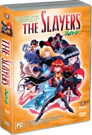 Slayers, The Series 1 Collection (4 DVDs) on DVD image