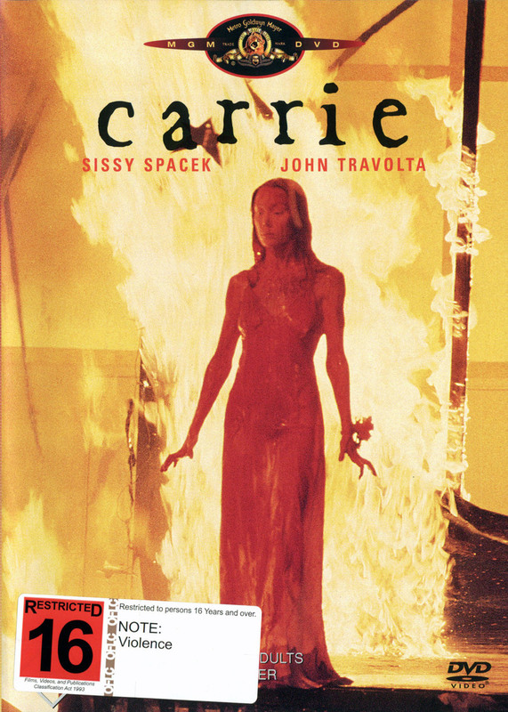 Carrie on DVD