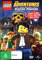 Lego - The Adventures of Clutch Powers on DVD