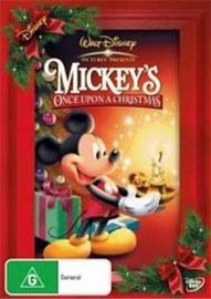 Mickey's Once Upon a Christmas on DVD