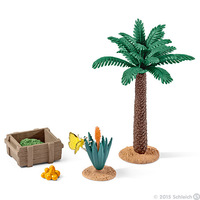 Schleich: Plants and Feed Set