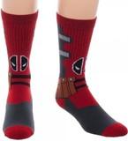 Marvel: Deadpool Suit Up - Crew Socks