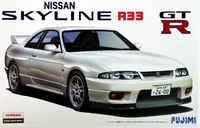 Fujimi 1/24 Nissan R33 Skyline GT-R 1995 - Model Kit