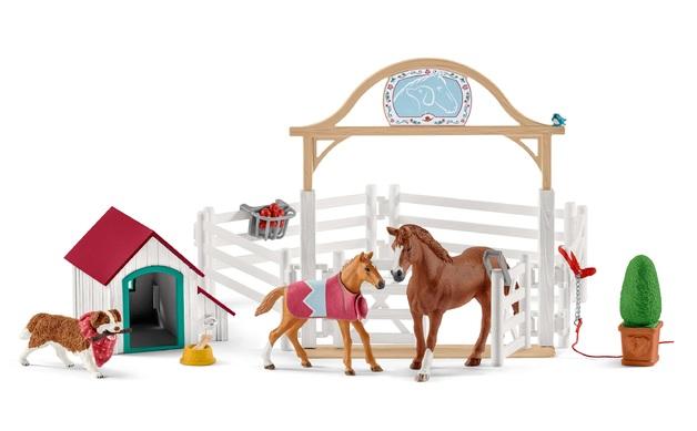 Schleich: Hannah's Guest Horse - Playset