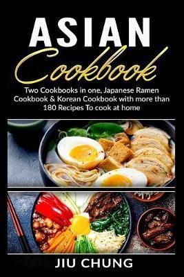 Asian Cookbook by Jiu Chung