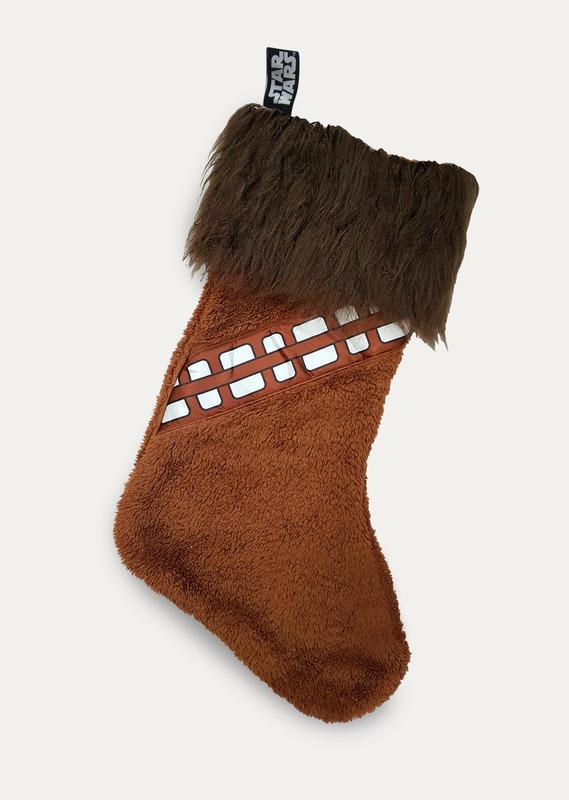 Star Wars: Chewbacca Fleece Christmas Stocking - Brown