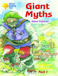 Oxford Reading Tree: Jackdaws Anthologies Pack 1: Giant Myths by Adam Coleman image