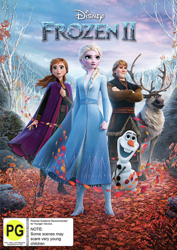 Frozen II on DVD